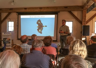 "Expert Birder, Louis Bevier, taught attendees ""birding basics"" at the MLRC this July."